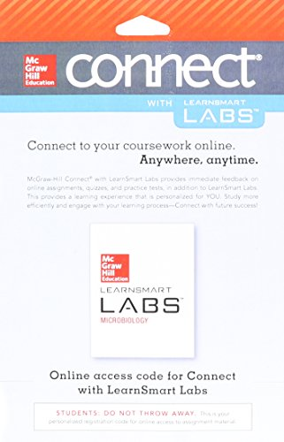 9780077731830: Connect Access Card for LearnSmart Labs Microbiology