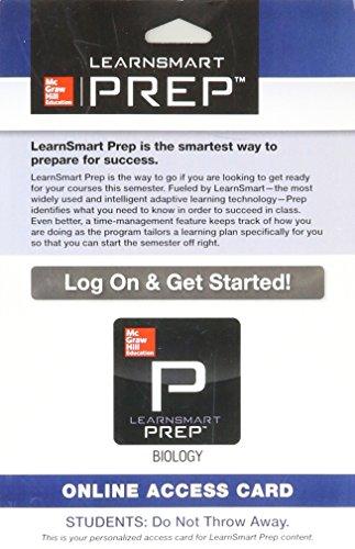 9780077732288: LearnSmart Prep Biology Access Card