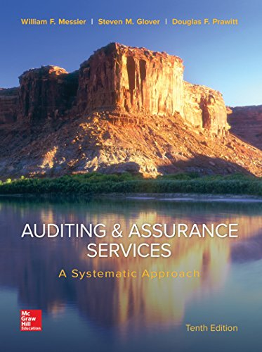 9780077732509: Auditing & Assurance Services: A Systematic Approach (Irwin Accounting)