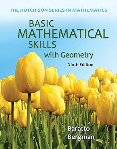 9780077732882: Basic Mathematical Skills with Geometry w/ Connect Plus Hosted by ALEKS 52 Weeks (Hutchison Series in Mathematics)
