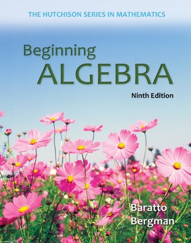 9780077732912: Beginning Algebra 52-Week Connect hosted by ALEKS Access Card