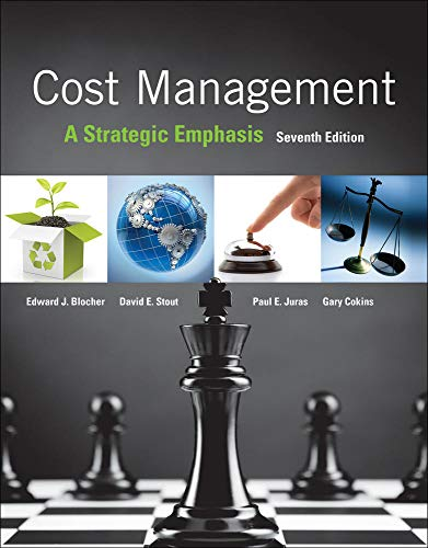 9780077733773: Cost Management: A Strategic Emphasis