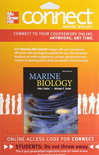 9780077733896: Connect Marine Biology Access Card for Marine Biology