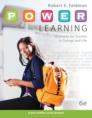 9780077736576: P.O.W.E.R. Learning: Strategies for Success in College and Life with Connect Access Card
