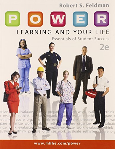 9780077736583: P.O.W.E.R. Learning and Your Life: Essentials of Student Success