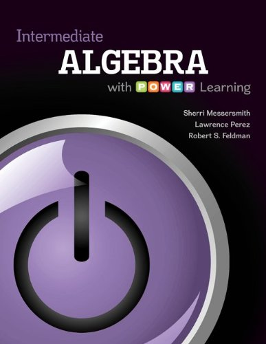 9780077736835: Intermediate Algebra with P.O.W.E.R. Learning with Connect hosted by ALEKS Access Card 52 Weeks