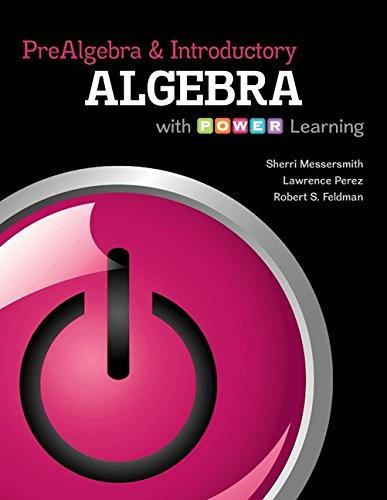 9780077736859: Prealgebra and Introductory Algebra with P.O.W.E.R. Learning 52-Week Connect hosted by ALEKS Access Card