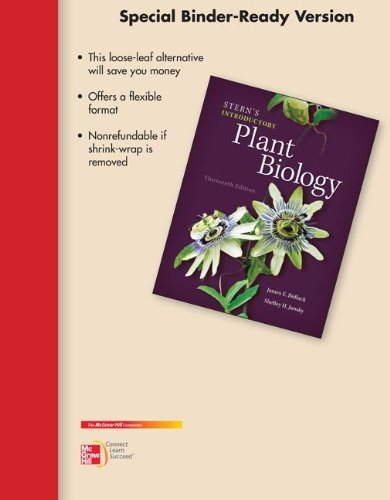 9780077753429: Loose Leaf Version of Stern's Introductory Plant Biology