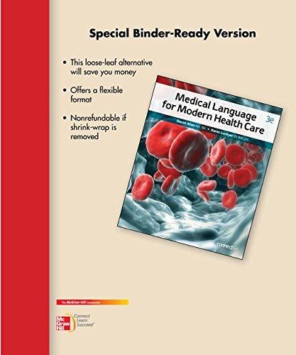 9780077753818: Loose Leaf for Medical Language for Modern Health Care