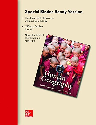 9780077754723: Human Geography