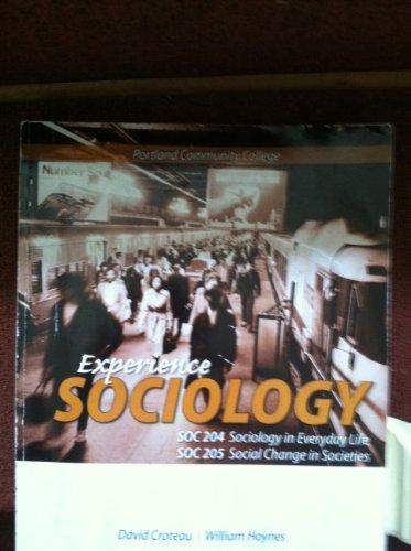 9780077755812: Experience Sociology