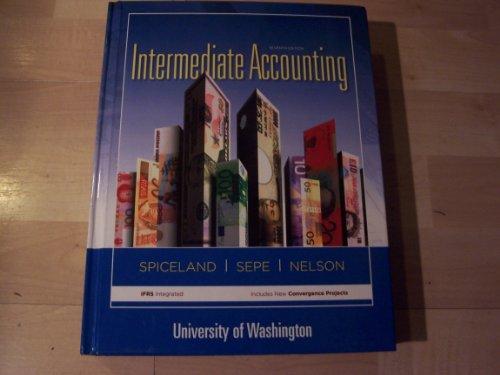 9780077756888: Intermediate Accounting for University of Washington