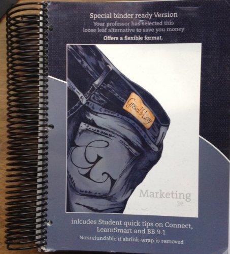 Marketing 3 edition by grewal abebooks marketing 3 edition 9780077757014 grewal fandeluxe Choice Image