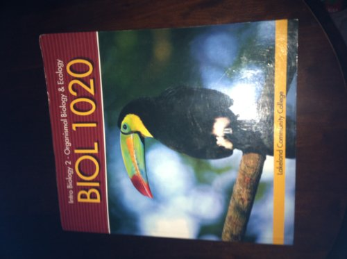 Intro Biology 2 Organismal Biology and Ecology: Mariëlle Hoefnagels (The University of Oklahoma