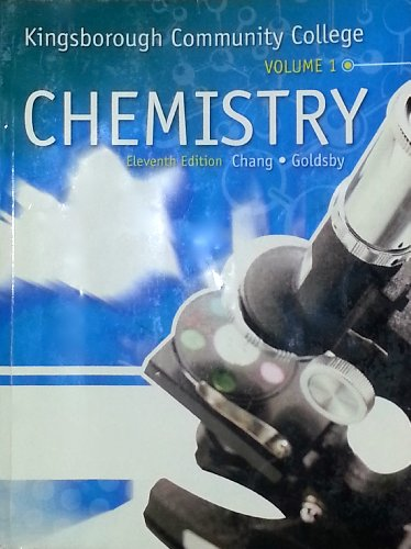 9780077758745: Kingsborough Community College Chemistry Volume 1 (11th Edition)