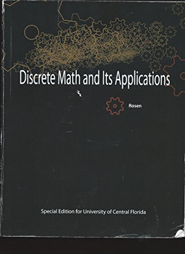 9780077758851: Discrete Math and Its Applications - UCF Edition