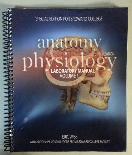 9780077759087: Anatomy & Physiology Laboratory Manual Volume 1