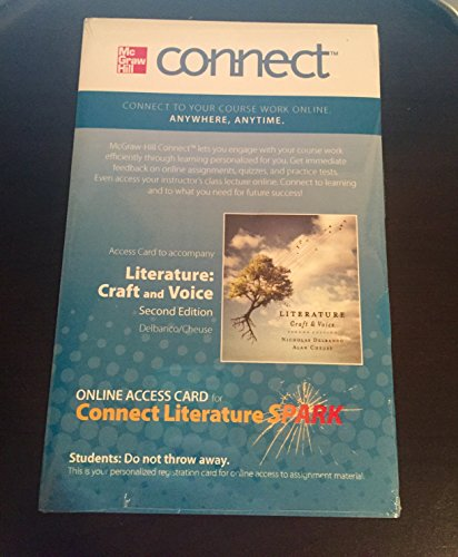 9780077760274: Literature Craft and Voice 2nd Edition Online Access Card
