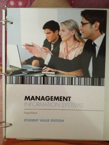 9780077760670: Management Information Systems (Student Value Edition)