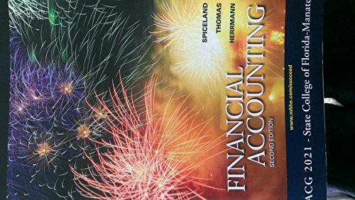 9780077761271: Financial accounting 2nd edition-paperback Spiceland, Thomas, and Herrmann