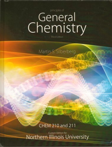 9780077762070: Principles of General Chemistry - Chem 210 and 211 Custom edition for NIU - Textbook Only