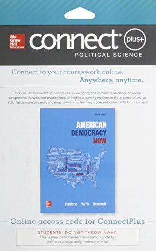 9780077763190: Connect Plus American Government with Learnsmart Access Card for American Democracy Now