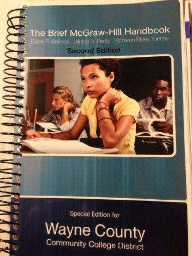 9780077764043: The Brief Mcgraw-hill Handbook (special edition for wayne county community college)