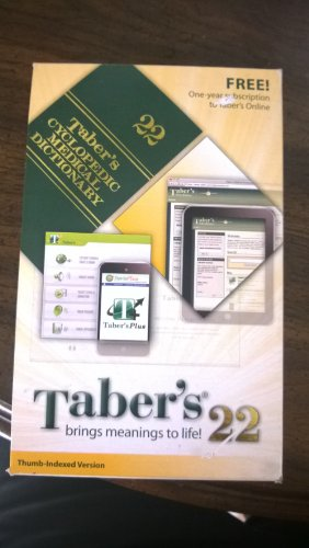 9780077764753: Taber's Cyclopedic Medical Dictionary With Dvd