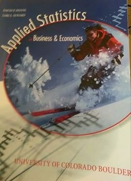9780077765996: Applied Statistics in Business and Economics