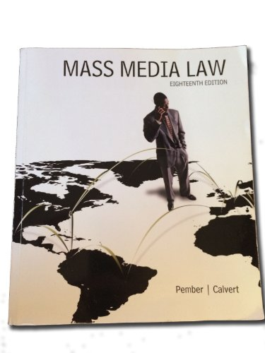 9780077766023: Mass Media Law