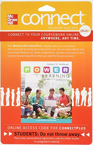 9780077766320: Connect Plus with LearnSmart Access Card for P.O.W.E.R. Learning: Foundations of Student Success