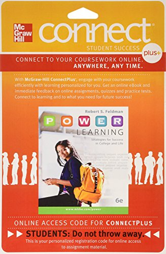 9780077766504: Connect Access Card for P.O.W.E.R. Learning: Strategies for Success in College and Life