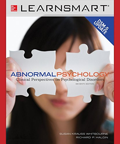 9780077767402: LearnSmart Access Card for Abnormal Psychology: Clinical Perspectives