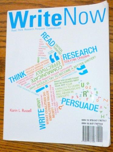 9780077767747: Write Now