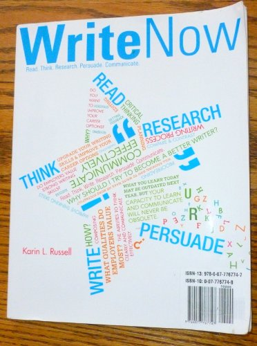 Write Now: Russell, Karin L.