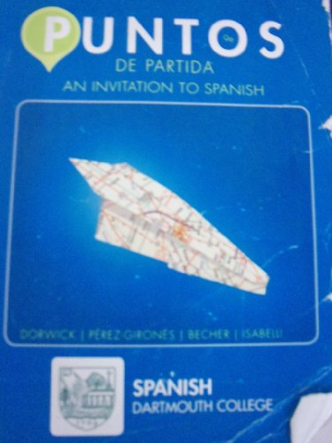 9780077768898: Puntos De Partida: An Invitation to Spanish [9e] (Dartmouth College)