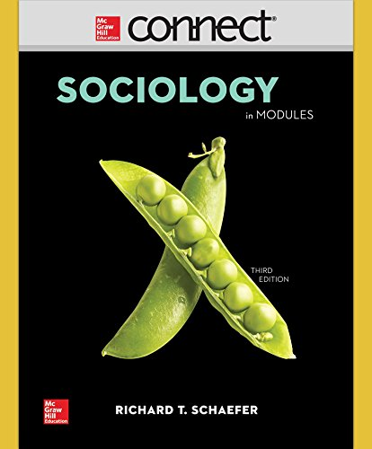 9780077770198: Connect Access Card for Schaefer Sociology in Modules 3/e