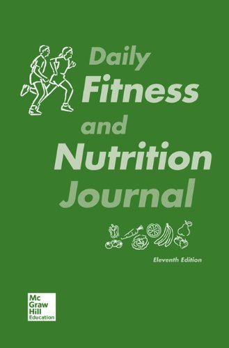9780077770389: Daily Fitness and Nutrition Journal for Fit & Well