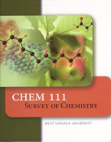 9780077770884: Chem 111 Survey of Chemistry West Virginia University