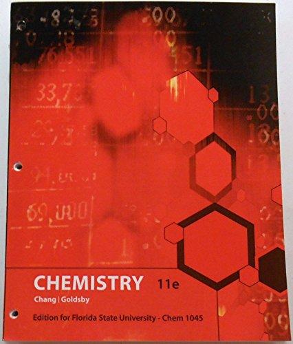 9780077771959: Chemistry: Florida States University Edition CHM1045