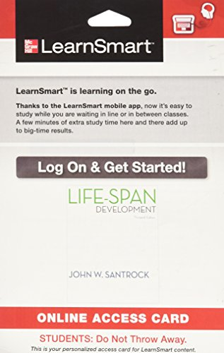 9780077772000: LearnSmart Access Card for Life-Span Development