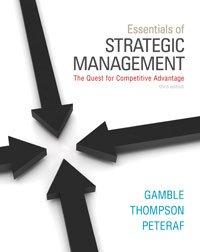 9780077772147: Essential of Strategic Management