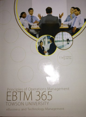 9780077772482: Principles of Operations Management