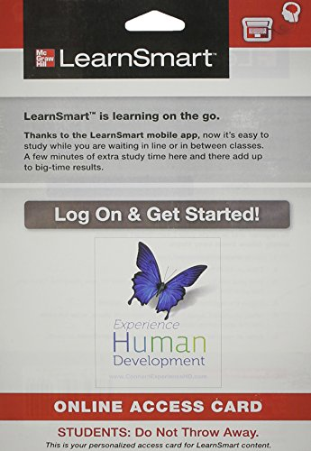 9780077772598: LearnSmart Access Card for Experience Human Development