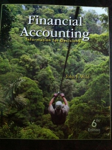 9780077773120: Financial Accounting (Financial Accouting: Information For Decisions, Sixth Edition)