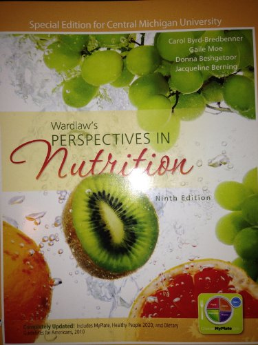 9780077773168: Wardlaw's Perspectives in Nutrition (Special Edition for Central Michigan University)