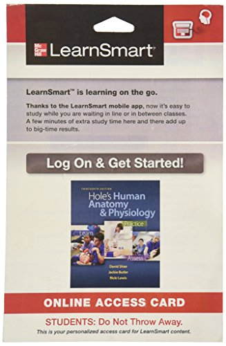9780077773861: LearnSmart Access Card for Hole's Human Anatomy and Physiology