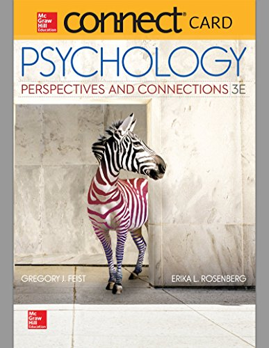 9780077773960: Connect Access Card for Psychology: Perspectives & Connections