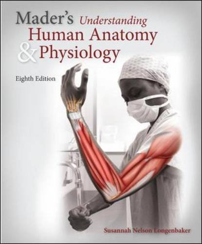 9780077774448: Mader's Understanding Human Anatomy & Physiology with Connect Plus 1 Semester Access Card