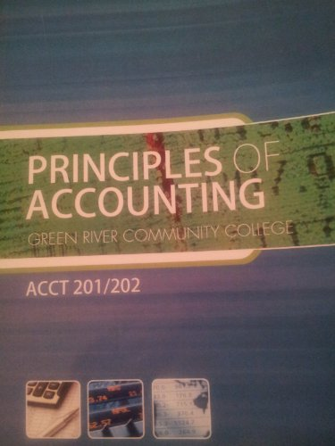9780077774981: Principles of Accounting (ACCT 201/202